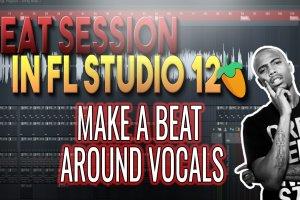Making A Beat Around Vocals | Beat Session in FL Studio 12 (B.O.B.)