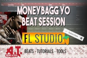 MoneyBagg Yo [3X Federal] Type Beat Session in FL Studio