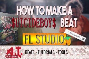 How To Make A $UICIDEBOY$ Type Beat in FL Studio (+Free Sample Kit)