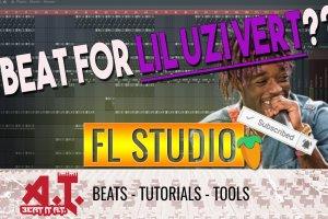 Making A Beat For Lil Uzi Vert in FL Studio Beat Session
