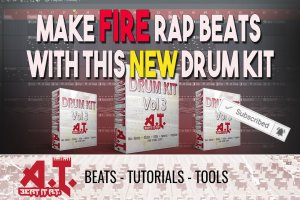 The Latest Beat It AT Drum Kit! Make FIRE BEATS