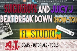 Breaking Down How To Make A $uicideBoy$ x Juicy J Type Beat