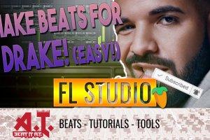 How To Start Making Beats in FL Studio | Trap Drake Type Beat (EASY!)