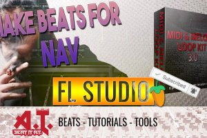 Making A Fire Nav Type Beat With This New Midi & Loop Kit