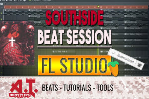 Making A Fire Southside | Trap Ye Guitar Type Beat Session