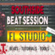 Making A Fire Southside   Trap Ye Guitar Type Beat Session