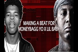 Making A Beat For Moneybagg Yo and Lil Baby In FL Studio