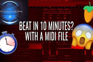 Using A Saved MIDI Melody To Make A Beat In 10 Minutes