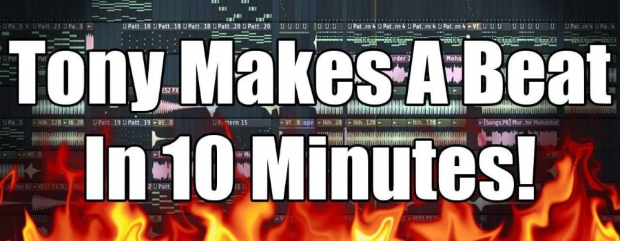 A Full Beat Made In 10 Minutes !!? (With Tony Chang of Beat It AT)