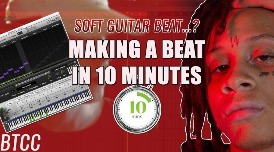 (Trying to) Make A Soft Guitar Beat In 10 Minutes For Trippie Redd…😫😪