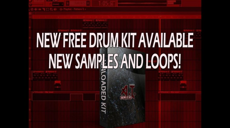 Sampling And Making A Beat With New Free Drum Kit